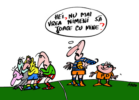 ANDOgrafia Zilei - Preşedinte jucător / vineri 23 martie 2007