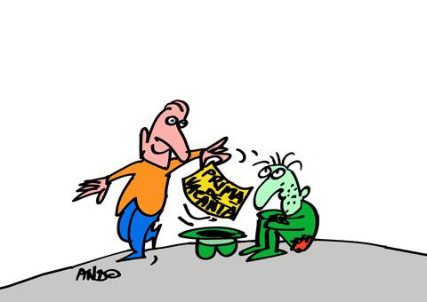 ANDOgrafia Zilei - Surprize guvernamentale / marţi 21 iulie 2009