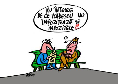 ANDOgrafia Zilei - Culmea fiscalităţii / vineri 05 martie 2010
