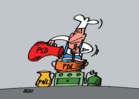 ANDOgrafia Zilei - PSD, PDL, PNLElixirul portocaliu / miercuri 31 martie 2010