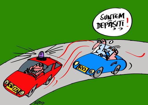 ANDOgrafia Zilei - Duel pe autostradă / sâmbătă 15 mai 2010