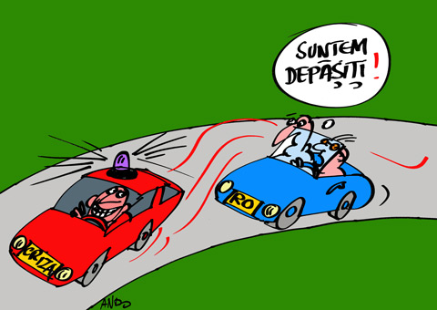 Duel pe autostradă - color