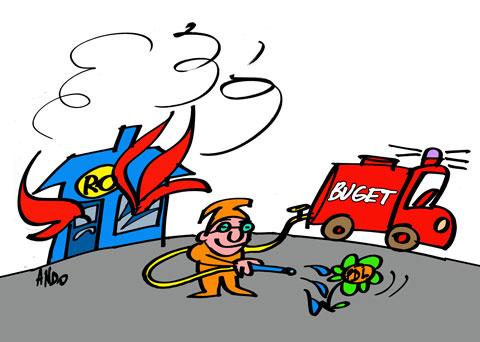 Prioritatea pompierului Boc - color