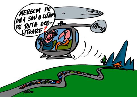 ANDOgrafia Zilei - Variantă prezidenţială / luni 10 ianuarie 2011