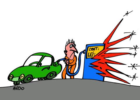 ANDOgrafia Zilei - Explozia preţului / joi 21 aprilie 2011