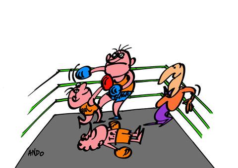 Luptă dreaptă - color