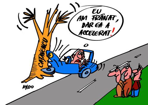 ANDOgrafia Zilei - Accidentul lui Dinescu / luni 04 iulie 2011