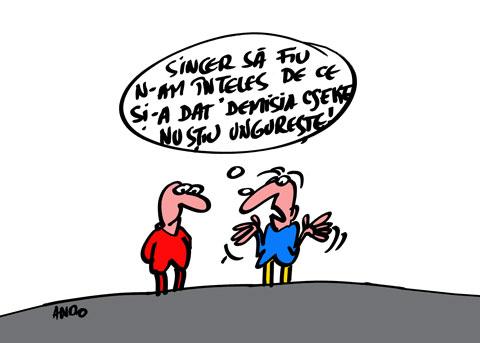ANDOgrafia Zilei - Politica bilingvă / vineri 02 septembrie 2011