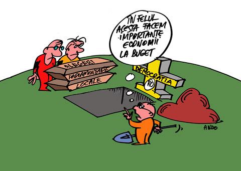 ANDOgrafia Zilei - În numele austerităţii / miercuri 21 decembrie 2011