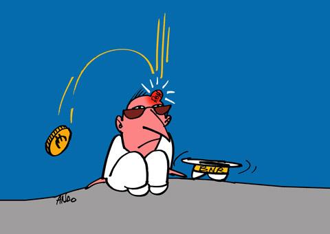 ANDOgrafia Zilei - Căderea Euro / joi 22 decembrie 2011